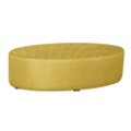 Oval Fully Upholstered Patterned Fabric Table , 76407