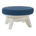 Fabric Upholstered Ottoman, 76436