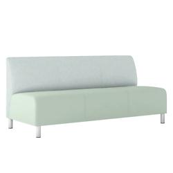 Modular Vinyl Armless Sofa, 76440