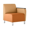 Modular Vinyl Left Arm Chair, 76446