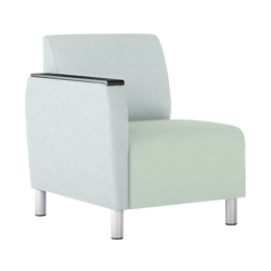 Modular Vinyl Right Arm Chair, 76447