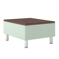"Modular Vinyl Connecting Table - 24.5""W, 76450"