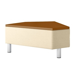 "Modular Vinyl 45° Connecting Table - 33.5""""W, 76452"