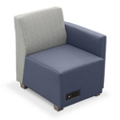 Compass Lounge Chair with Left Arm, 76525