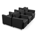 Compass Six Piece Ganged Reception Set, 76568