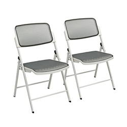 Mesh Folding Chair Set of 2, 15499