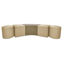 Five Piece Modular Bench, 82071
