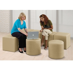 L and Circle Bench Set, 82106