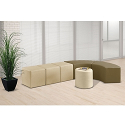 J-Shape Modular Bench Set, 82107