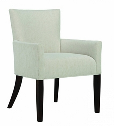 Fabric Side Chair with Exposed Legs, 56898