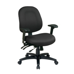 24 Hour Use Fabric Mid Back Chair, 57517