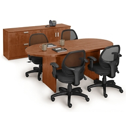 Table And Chair Sets National Business Furniture - Conference room table and chairs set