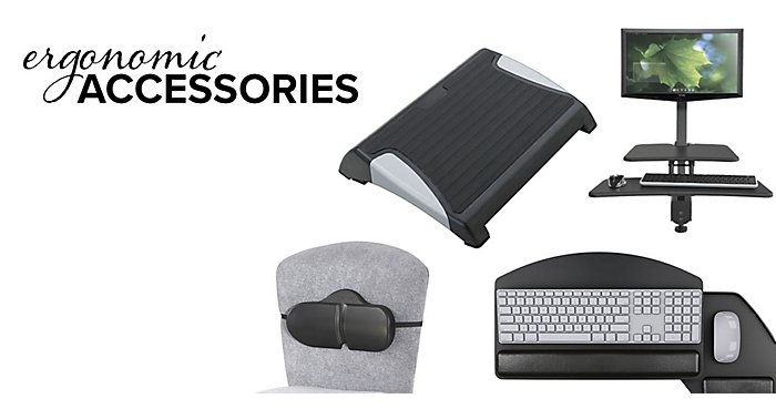 Ergonomic Accessories to Help You Stay Comfortable