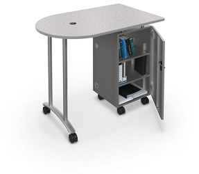 "Mobile Teacher Workstation - 48""W, 14875"
