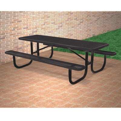 6u0027 Wide Rectangular Outdoor Table, 91368