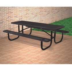 8' Wide Rectangular Outdoor Table, 91369
