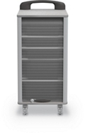 "Mobile Tub Storage Cart - 17""W, 37112"