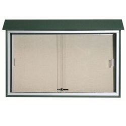 "Sliding Door Outdoor Message Center - 45""W x 30""H, 80314"