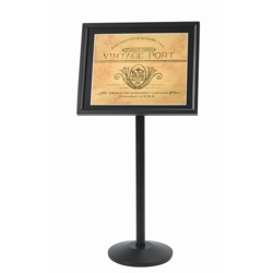 "Black Standing Sign Holder - 20""W x 24""D, 87356"