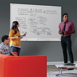 6'x4' Connectable Digital Dry Erase Board, 80608