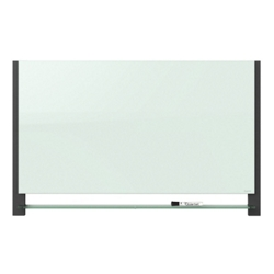 "55.25""W x 33""H Glass Dry Erase Board, 80710"