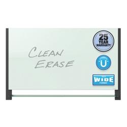 "81""W x 49""H Glass Dry Erase Board, 80711"
