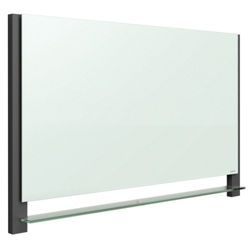 "85""W x 48""H Glass Dry Erase Board, 80712"