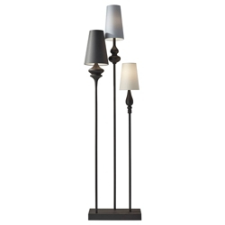 Triple Shade Floor Lamp, 82566