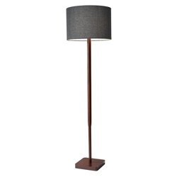 Wood Base Floor Lamp, 82577