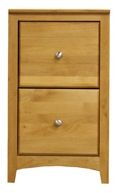 "Solid Wood Two Drawer File - 18""W, 30925"