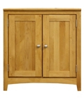 "Solid Wood Two Drawer Storage Cabinet - 28.5""W, 30928"