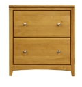 "Solid Wood Two Drawer Lateral File - 28.5""W, 30926"