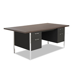 "Double Pedestal Desk with 72"" x 36"" Conference Top, 11315"