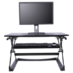 "Sit Stand Lifting Workstation, 38""W, 14877"