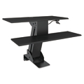 "Sit Stand Workstation, 9""W, 14879"