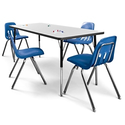 """72"""" x 30 Markerboard Table, 46329"""
