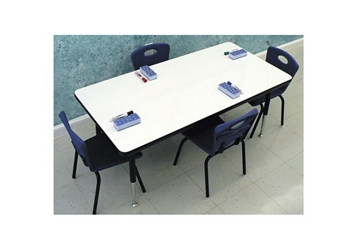 """60""""W x 30""""D Markerboard Table, 46325"""