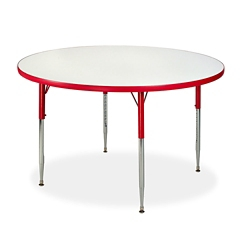 "Circle White Board Table Top - 48"" DIA, 46500"