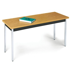 "Office Table with Fixed Legs - 18""W x 72""D, 46451"