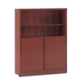 "48""H Four Shelf Bookcase with Doors, 32142"
