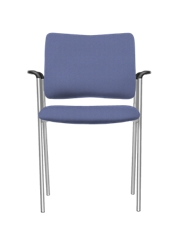 Vinyl Stack Chair with Arms, 51732