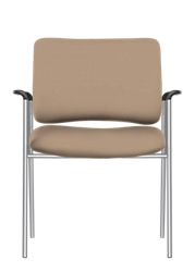 Bariatric Vinyl Stack Chair with Arms, 51734