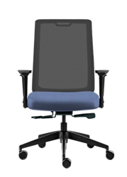 Fabric Task Chair with Mesh Back, 51740