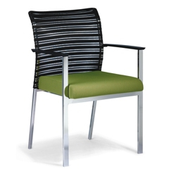 Horizontal Mesh Back Side Chair, 52373