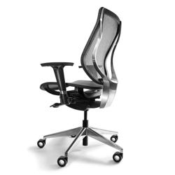 High Back Mesh Task Chair - Aluminum Base, 57028