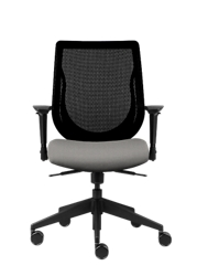 Mesh Back Office Chair with Vinyl Seat, 51735