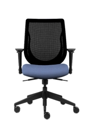 Mesh Back Office Chair with Fabric Seat, 51736
