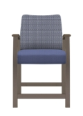 "Jacob Hip Chair with Flex Back - 24""H Seat, 26661"