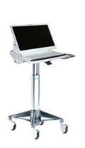 Angled LCD Cart with Hot Swappable Surface-Mounted Battery, 26512