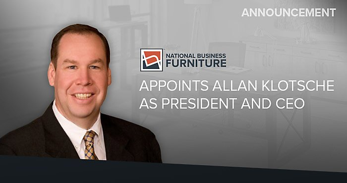 National Business Furniture Names Allan Klotsche as Its Next President